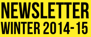 Newsletter winter 2014-2015