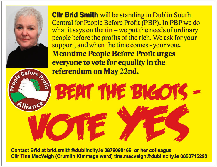 Brid Smith Vote Yes