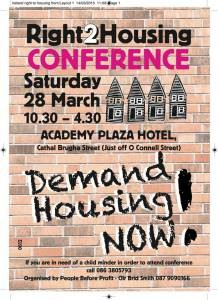 poster housing conference
