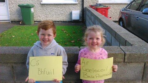 Brid supports the demand for Naonairi facilities in Ballyfermot