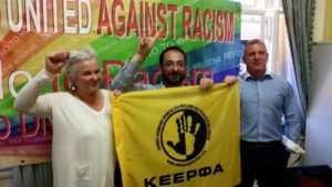 United against Racism from Dublin to Greece