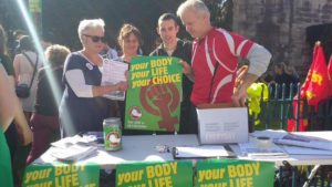 Repeal the 8th PBP stall