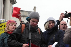 chairing red card demo