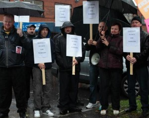 gleesons picket line