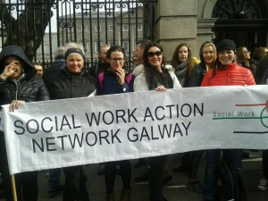 social workers & Dail